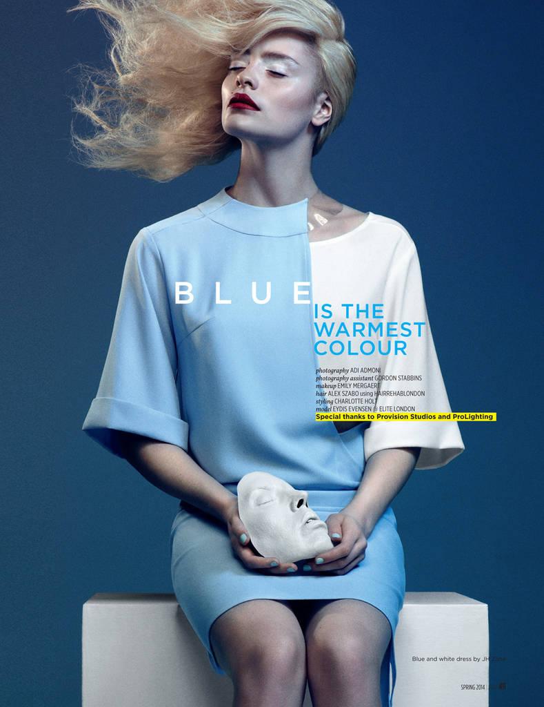 BLUE IS THE WARMEST COLOUR - Adi Admoni